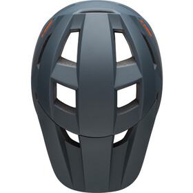 Bell Spark Casco Niños, matte slate/orange